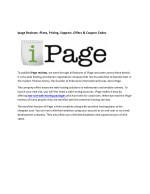 ipage reviews plans pricing support offers coupon