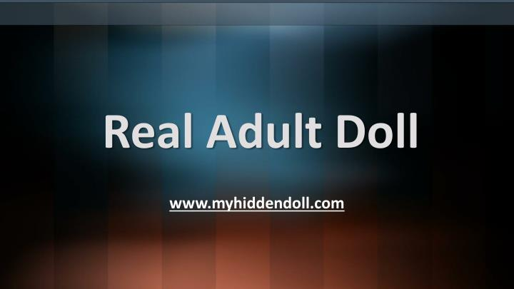 real adult doll n.