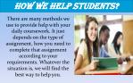 how we help students
