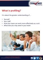 what is profiling it is about the greater