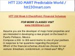 htt 230 mart predictable world htt230mart com 15