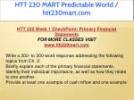 htt 230 mart predictable world htt230mart com 2