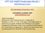 htt 230 mart predictable world htt230mart com 21