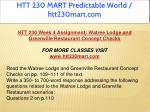 htt 230 mart predictable world htt230mart com 9