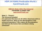 hsm 541 rank predictable world hsm541rank com 11