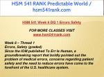 hsm 541 rank predictable world hsm541rank com 19