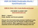 hsm 541 rank predictable world hsm541rank com 3