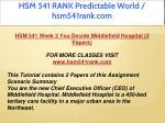 hsm 541 rank predictable world hsm541rank com 8