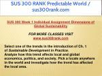 sus 300 rank predictable world sus300rank com 1
