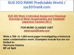 sus 300 rank predictable world sus300rank com 2