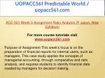 uopacc561 predictable world uopacc561 com 10