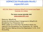 uopacc561 predictable world uopacc561 com 22