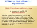 uopacc561 predictable world uopacc561 com 26