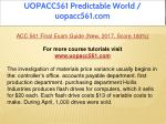 uopacc561 predictable world uopacc561 com 3