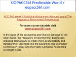 uopacc561 predictable world uopacc561 com 7