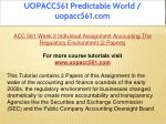 uopacc561 predictable world uopacc561 com 8