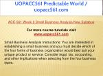 uopacc561 predictable world uopacc561 com 9