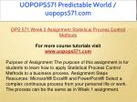 uopops571 predictable world uopops571 com 10