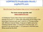 uopfin370 predictable world uopfin370 com 1