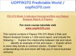 uopfin370 predictable world uopfin370 com 11