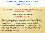 uopfin370 predictable world uopfin370 com 15