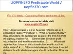 uopfin370 predictable world uopfin370 com 4