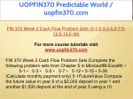 uopfin370 predictable world uopfin370 com 7