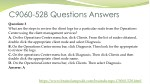 c9060 528 questions answers 2