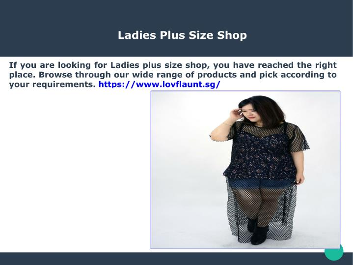ladies plus size shop n.