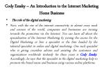 cody emsky an introduction to the internet marketing home business 2