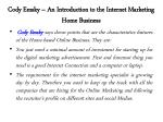 cody emsky an introduction to the internet marketing home business 4
