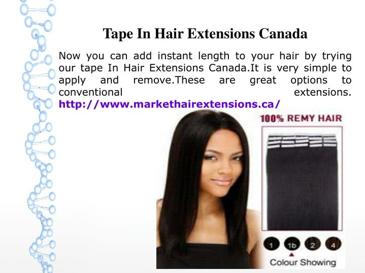 tape in hair extensions canada n.