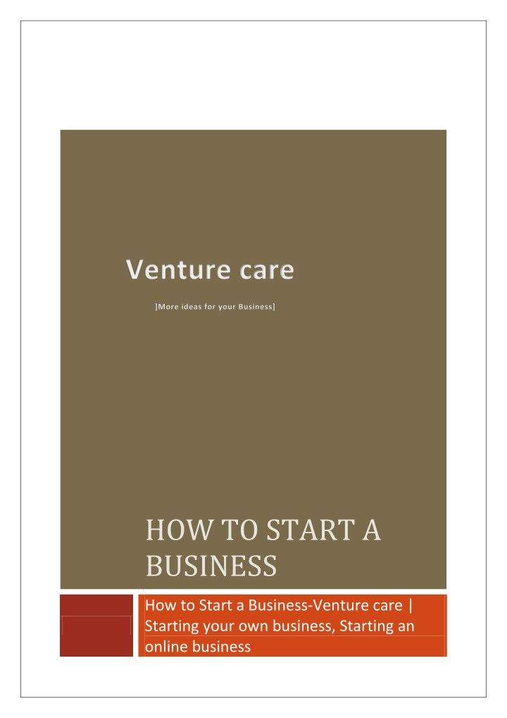 how to start a business n.