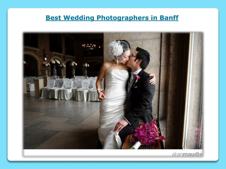 best wedding photographers in banff n.
