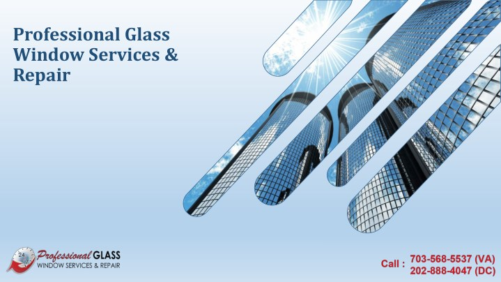 professional glass window services repair n.