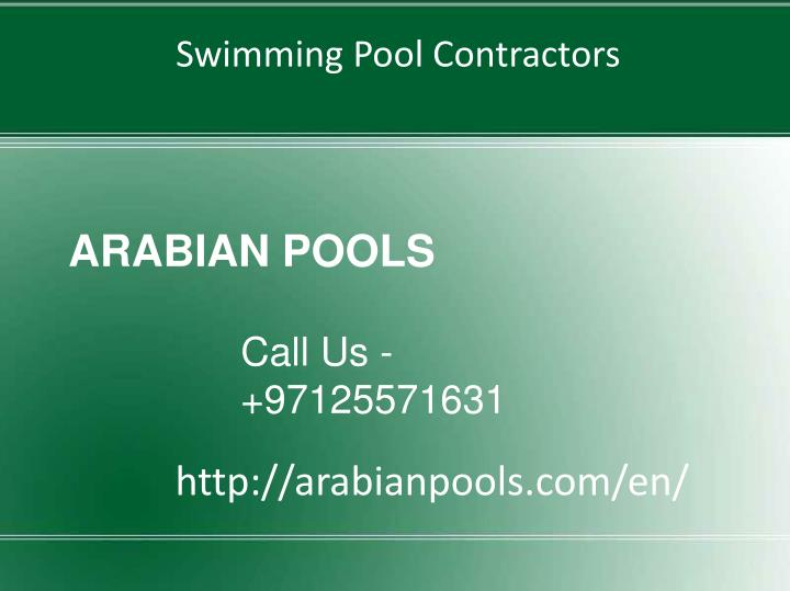 arabian pools n.