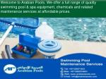 welcome to arabian pools we offer a full range