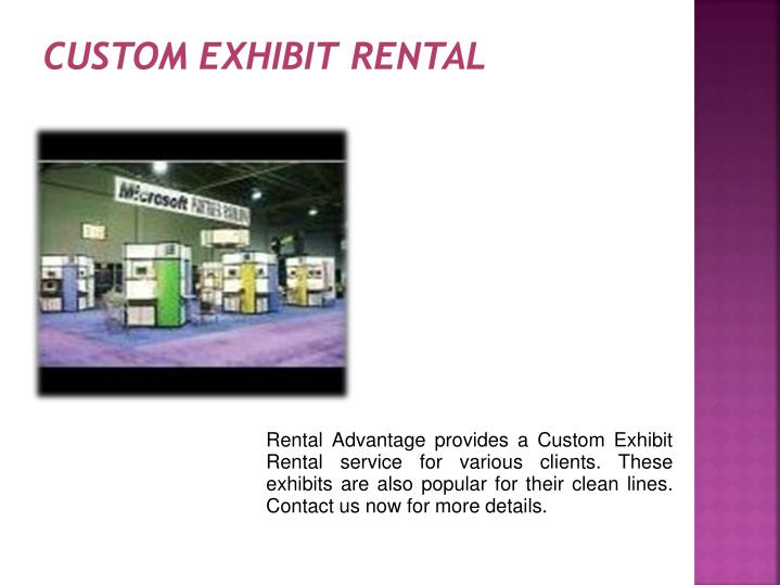 custom exhibit rental n.