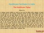 healthcare facilitator in india 1