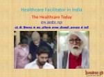 healthcare facilitator in india 2
