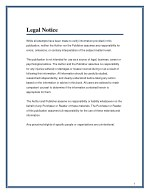 legal notice while all attempts have been made