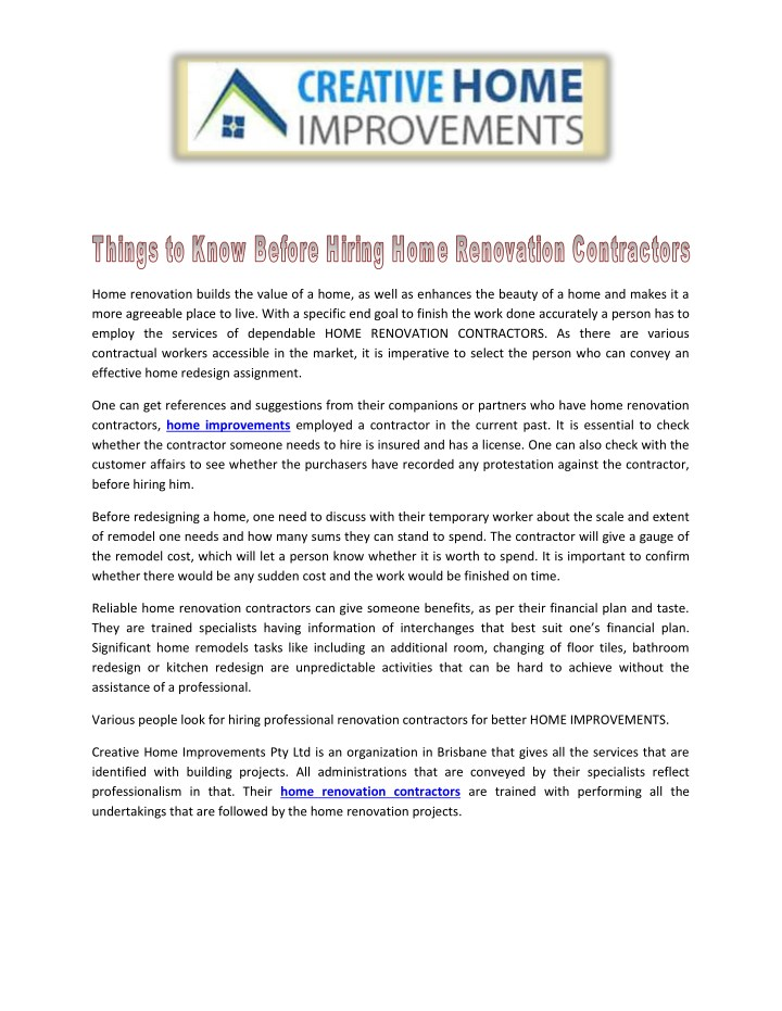 home renovation builds the value of a home n.