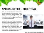 special offer free trial