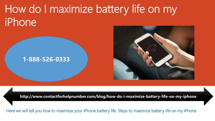 how do i maximize battery life on my iphone n.