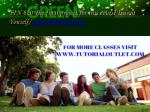 fin 620 the final project for this course invent youself tutorialoutletdotcom 2