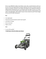 the sun joe ion16lm cordless lawn mower comes