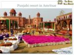 punjabi resort in amritsar
