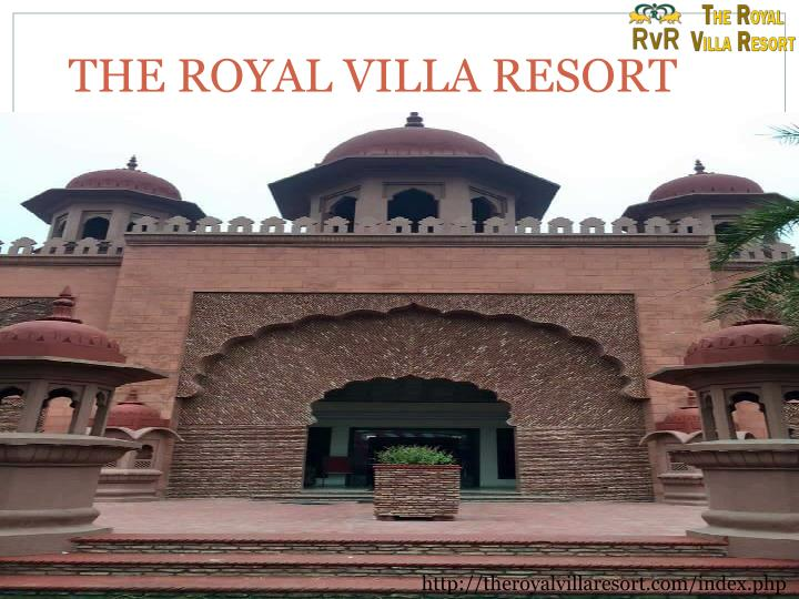 the royal villa resort n.