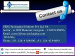 benz packaging solutions pvt ltd 84 sector