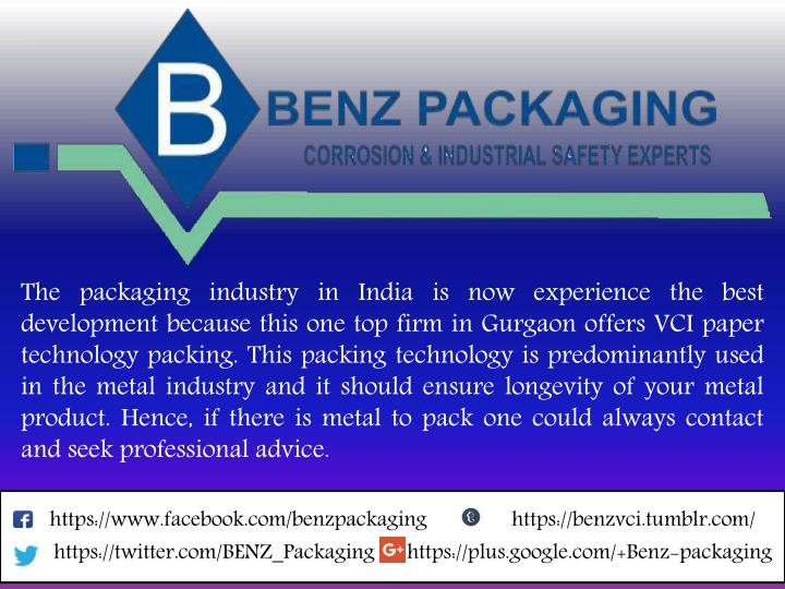 the packaging industry in india is now experience n.